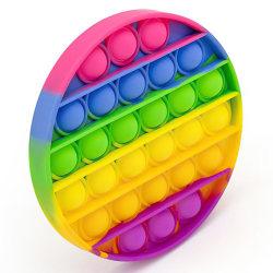 Pop It Fidget Toys - Leksak / Sensory - Cirkel - Multifärg multifärg