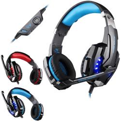 PS4 Headset - Gaming PC / Hörlurar Kotion Each G9000 Playstation Blå