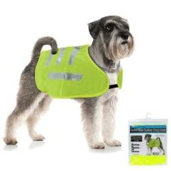 Reflexväst för Hund / Reflex - Flera storlekar LimeGreen XL