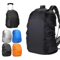 Regnskydd för Ryggsäck / Resväska / Skydd för Väska - Medium Svart