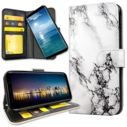 Samsung Galaxy A10 - Plånboksfodral Marmor