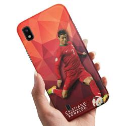 Samsung Galaxy A10 - Skal / Mobilskal Cristiano Ronaldo