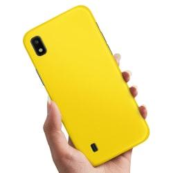 Samsung Galaxy A10 - Skal / Mobilskal Gul