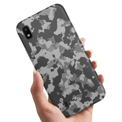 Samsung Galaxy A10 - Skal / Mobilskal Kamouflage
