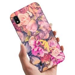 Samsung Galaxy A10 - Skal / Mobilskal Roses