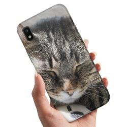 Samsung Galaxy A10 - Skal / Mobilskal Sovande Katt