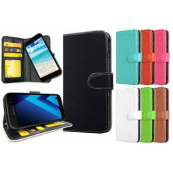 Samsung Galaxy A3 (2017) - Plånboksfodral / Skal med Magnet Rosa