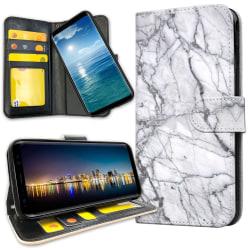 Samsung Galaxy A40 - Plånboksfodral Marmor