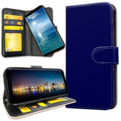 Samsung Galaxy A40 - Plånboksfodral Mörkblå