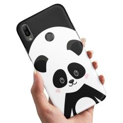 Samsung Galaxy A40 - Skal / Mobilskal Cute Panda