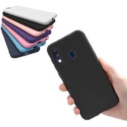Samsung Galaxy A40 - Skal / Mobilskal Lätt & Tunt - Flera färger Mörkblå