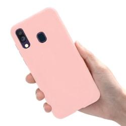 Samsung Galaxy A40 - Skal / Mobilskal Lätt & Tunt - Ljusrosa Ljusrosa
