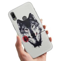 Samsung Galaxy A40 - Skal / Mobilskal Varg Ros