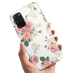 Samsung Galaxy A41 - Skal / Mobilskal Retro Blommor