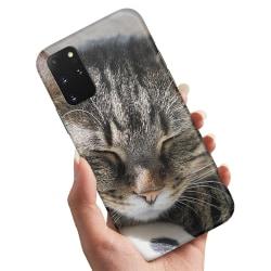 Samsung Galaxy A41 - Skal / Mobilskal Sovande Katt