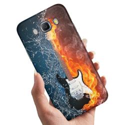 Samsung Galaxy A5 (2015) - Skal / Mobilskal Vatten och Eld Gitar