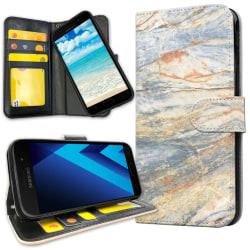 Samsung Galaxy A5 (2017) - Plånboksfodral Marmor