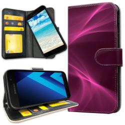 Samsung Galaxy A5 (2017) - Plånboksfodral Purple Fog