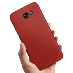 Samsung Galaxy A5 (2017) - Skal / Mobilskal Mörkröd