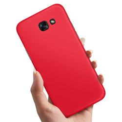 Samsung Galaxy A5 (2017) - Skal / Mobilskal Röd