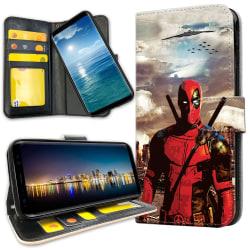 Samsung Galaxy A50 - Plånboksfodral Deadpool