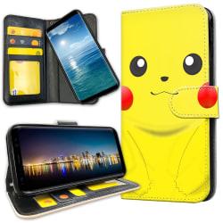Samsung Galaxy A50 - Plånboksfodral Pikachu / Pokemon
