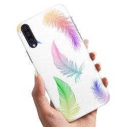 Samsung Galaxy A50 - Skal / Mobilskal Fjädrar