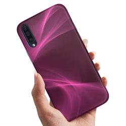 Samsung Galaxy A50 - Skal / Mobilskal Purple Fog