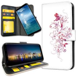 Samsung Galaxy A51 - Plånboksfodral Blommor & Fjärilar