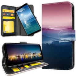 Samsung Galaxy A51 - Plånboksfodral Färgrika Dalar
