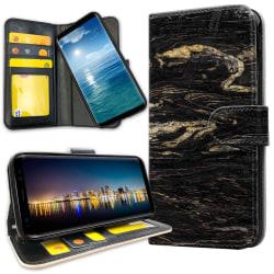 Samsung Galaxy A51 - Plånboksfodral Marmor