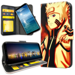 Samsung Galaxy A51 - Plånboksfodral Naruto Sasuke
