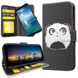 Samsung Galaxy A51 - Plånboksfodral Pandahuvud