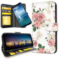 Samsung Galaxy A51 - Plånboksfodral Retro Blommor