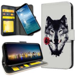 Samsung Galaxy A51 - Plånboksfodral Varg Ros