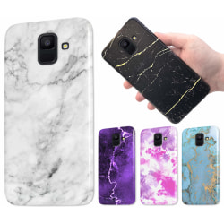 Samsung Galaxy A6 (2018) - Marmor Skal / Mobilskal - 60 Motiv 21