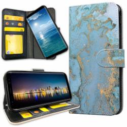 Samsung Galaxy A6 (2018) - Plånboksfodral Marmor