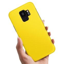 Samsung Galaxy A6 (2018) - Skal / Mobilskal Gul Gul