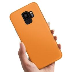 Samsung Galaxy A6 (2018) - Skal / Mobilskal Orange Orange