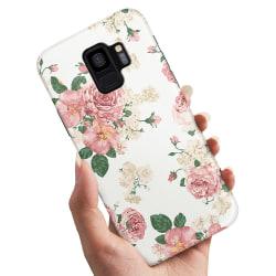 Samsung Galaxy A6 (2018) - Skal / Mobilskal Retro Blommor