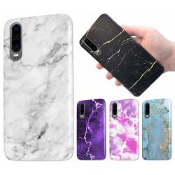 Samsung Galaxy A7 (2018) - Marmor Skal / Mobilskal - 60 Motiv 40