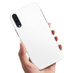 Samsung Galaxy A7 (2018) - Skal / Mobilskal Vit