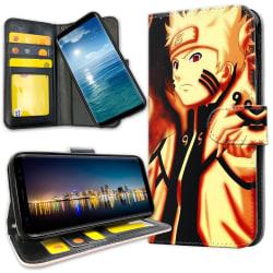 Samsung Galaxy A71 - Plånboksfodral Naruto Sasuke