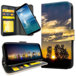 Samsung Galaxy A71 - Plånboksfodral Sunset