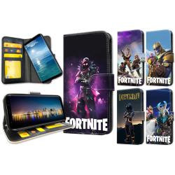 Samsung Galaxy A8 (2018) - Fortnite Plånboksfodral / Skal 4