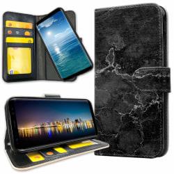 Samsung Galaxy A8 (2018) - Plånboksfodral Marmor