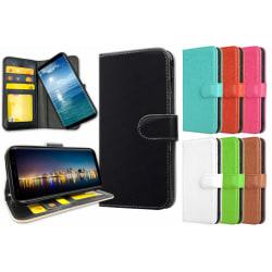 Samsung Galaxy A8 (2018) - Plånboksfodral / Skal med Magnet Svart