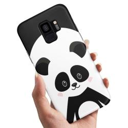 Samsung Galaxy A8 (2018) - Skal / Mobilskal Cute Panda