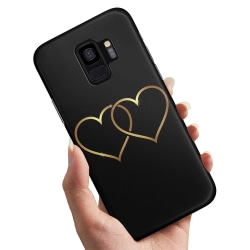 Samsung Galaxy A8 (2018) - Skal / Mobilskal Double Hearts