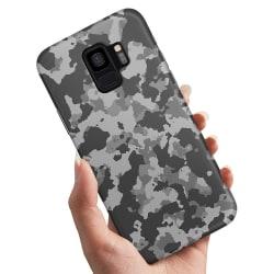 Samsung Galaxy A8 (2018) - Skal / Mobilskal Kamouflage